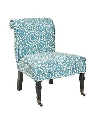 Safavieh Orson Side Chair, Blue/White
