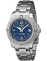 Breitling Men's BTA7738811-C908SS Colt Lady Analog Display Quartz Silver Watch