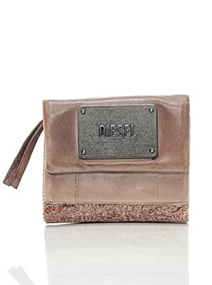 Diesel Eliodoro Warrior, Damen Portemonnaie (Braun (Brown))