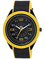 MTV Analog Black Dial Men's Watch - B7005YL