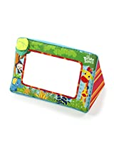 Colorful Fabric Frame With Sweet Characters Floor Mirror