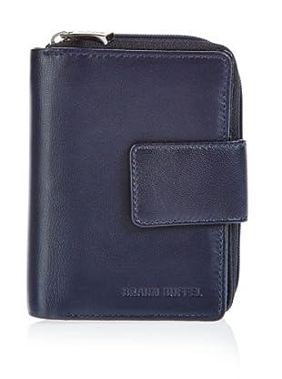 Braun Büffel Portemonnaie (Navy)