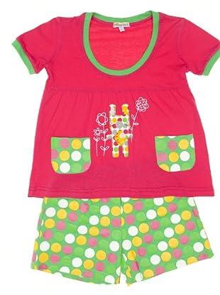 Pillerias Pijama (fucsia / verde)