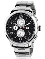 Tommy Hilfiger Tyler Tachymeter Analog Black Dial Men's Watch TH1790860/D