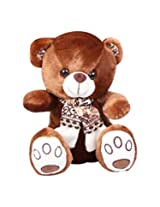 Monopoly Bear with Muffler, Brown (31cm)