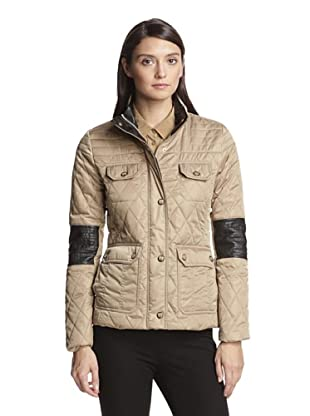 Vince Camuto Women's Quilted Jacket (Mocha)