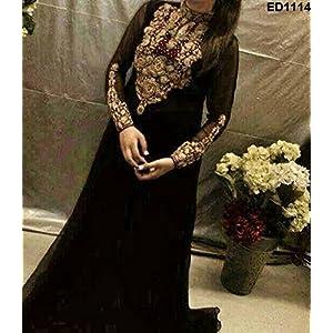 Designer Pakistani-style Long Anarkali Kameez