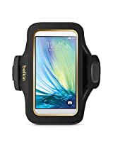 Belkin Slim-Fit Plus Armband for Samsung Galaxy S6 (Black / Gold)