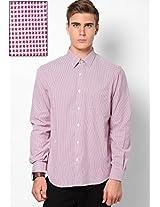 Pink Stripes Club Wear Shirts John Players