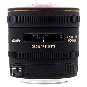【クリックで詳細表示】Amazon.co.jp|SIGMA 単焦点魚眼レンズ 4.5mm F2.8 EX DC CIRCULAR FISHEYE HSM ニコン用 円周魚眼 APS-C専用 486556|カメラ・ビデオ通販