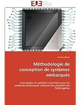 Methodologie de Conception de Systemes Embarques (Omn.Univ.Europ.)