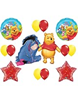 Winnie The Pooh And Eeyore Happy Birthday Balloon Decoration Kit
