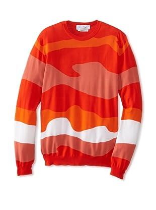 Salvatore Ferragamo Men's Crew Neck Sweater (Red)