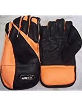 Combat Raider- Superior Leather Wicket Keeping Gloves-Full Size