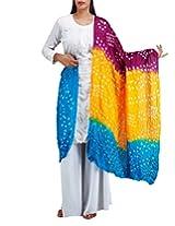 Unnati Silks Women Corporate multicolor art silk dupatta