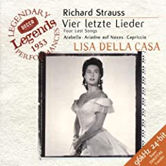 Strauss: Four last Songs, Arabella / Della Casa