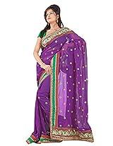 Triveni Casual Fantastic Sari With Unstitch Blouse - 5632