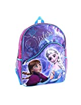 Disney Frozen 16 inch Backpack with Role Play Gloves - Sisters Forever