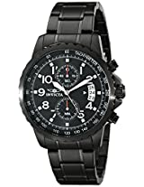 Invicta Analog Black Dial Unisex Watch - 13787