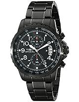 Invicta Analog Black Dial Unisex Watch - 13787
