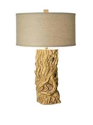 Pacific Coast Lighting Driftwood Log Table Lamp