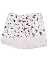 Prestine 240 TC Cotton Bath Towel, Pack of 3 - White