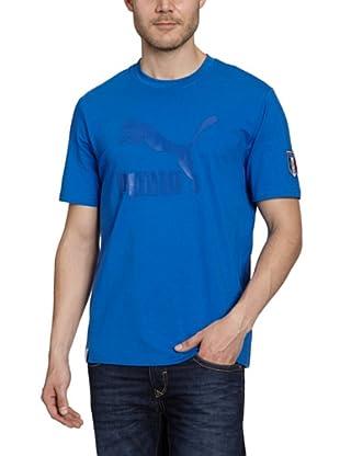Puma T-Shirt Football Archives Tonal Logo (team power blue-figc)