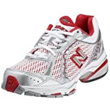 New Balance Silver/Lollipop Wide Fit Trainer