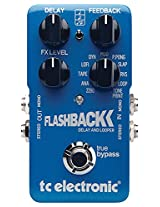 TC Electronic FlashBack Delay and Looper Guitar Effect Pedal, Blue
