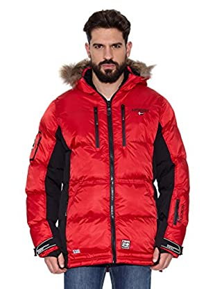 Geographical Norway Abrigo Corto Dumbo Men (Rojo / Negro)