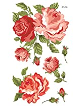 Supperb Temporary Tattoos - Rose Blooming
