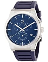 Calvin Klein Blue Dial Men's Watch - K2S371VN