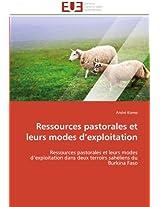 Ressources Pastorales Et Leurs Modes D Exploitation (Omn.Univ.Europ.)