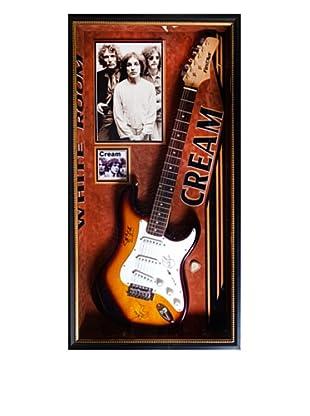Signed Cream Guitar