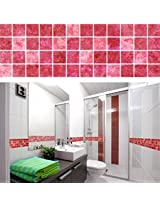 5M Bathroom Tile Wall Sticker PVC Kitchen Mosaic Waist Line Adhesive Wall Paper