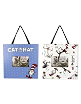 Trend Lab 2 Piece Dr. Seuss Frame Set, Cat In The Hat