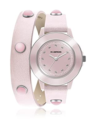 K&Bros  Reloj 9574 (Rosa)