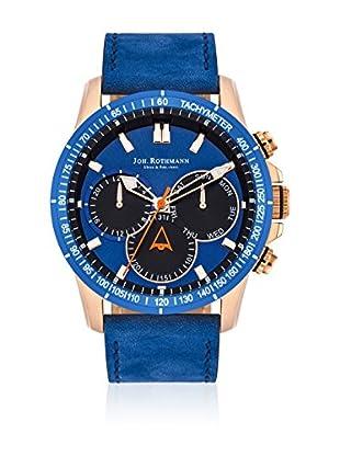 Joh. Rothmann Reloj con movimiento cuarzo japonés  Azul 45 mm