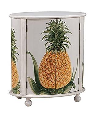 Coast to Coast Pineapple 2-Door Cabinet