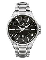 Bulova 96B134 Men's Watch Adventurer Stainless Steel Black Dial
