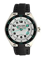 Sector Black Analog Men Watch R3251177045