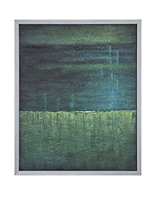 Surya Blue and Mint Green Wall Décor, Multi, 50