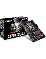 ASRock Z170A-X1/3.1 Intel Z170 ATX Motherboard
