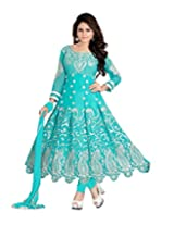 Shyam Creation New Anarkali Embroidered Dress Materials(L-1004)