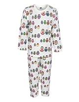 Teddy Full Sleeves Night Suit - Dancing Dolls Print