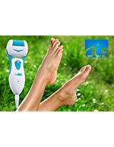 Electric Callus Remover, Rechargeable Plug-In, BACK TO SCHOOL SALE! More Powerful than AA Battery, Pedi.Cure Solutions New Professional Foot Scrubber & Micro Pedicure Exfoliating File Tool - Repair & Smooth Cracked Feet, Satisfaction Guaranteed, BLUE