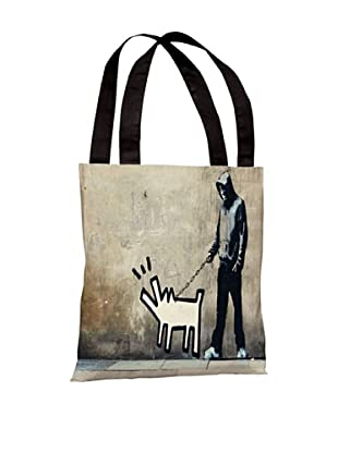 Banksy Choose Your Weapon Tote Bag
