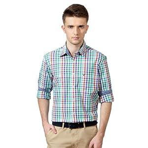 Mini-Checkered Full Sleeved Shirt