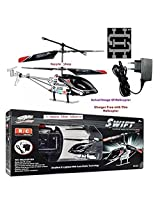 Remote control Swift IR Helicopter Swift IR (UNBREAKABLE BLADES) Rechargeable Helicopter 2 CHANNELS With Charger. FREE 2 UNBREAKABLE BLADES!