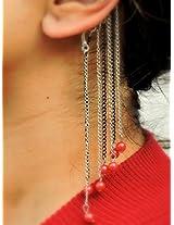 Drops of passion Ear cuff